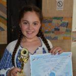 Antonia Stoian a obținut trofeul Festivalului EURO MUSIC 2014, Ediția a II-a, 7 iunie 2014!