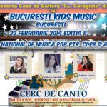 Kids Music 24 februarie 2014 – IULIA BEREGOI