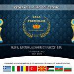 """Exclusiv! Gala premiilor """"Euro Education"""", ediția I, 2017, la Muzeul Județean """"Alexandru Ștefulescu"""" din Târgu-Jiu!"""