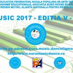 EURO MUSIC DANCE: 10 iunie 2017 – Ediția a V-a