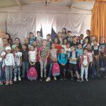 """Echipa """"Mic News"""" transmite bucurie în sufletul elevilor de la Şcoala Gimnazială Petrechioaia nr 1, din judeţul Ilfov."""