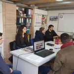 "Doi voluntari din Turcia pentru colegii de la ""Center for Education and Development""!"
