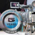 Astăzi, 29 mai 2018, EURO EDUCATION FEDERATION împlinește 5 ani de la înființare!