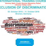 EXCLUSION OF DISCRIMINATION – GERMANY (3-11 OCTOBER 2018)