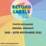 Beyond Labels – Bremen 2ND-10TH November 2021 ERASMUS+